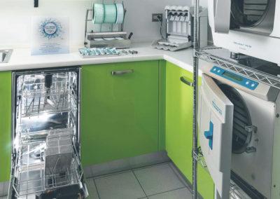 Sala di sterilizzazione Studio Barnabo Penco Milano