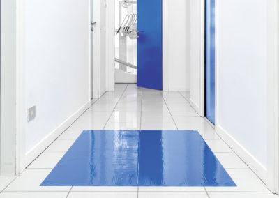 Studio Barnabo Penco - Ingresso sale operative con tappetino antistatico